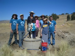 2017 T'iu K'asa Villagers - a completed well.