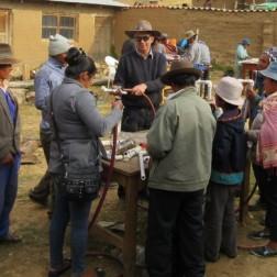 Dale Harlan leading Pump Workshop in K'asa Village